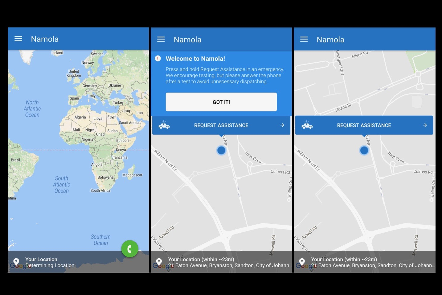 mobapp,apps,utilities,Namola,app,review,star rating,citizens,safety,safe,crime,directly,connecting,police,reach,help,quickly,safely,location,nearest,emergency situation,protect,#MakeSASafe,report,incidents,Gauteng,South Africa,expand,app store,trending,protected,sign-up,email,number,password,photo,recognise,situation,account,map,determining location,location setting,enable,device,request assistance,hold,authorities,dispatched,option,settings,report corruption,prevent,emergency assistance,warned,red,get help,initiative,