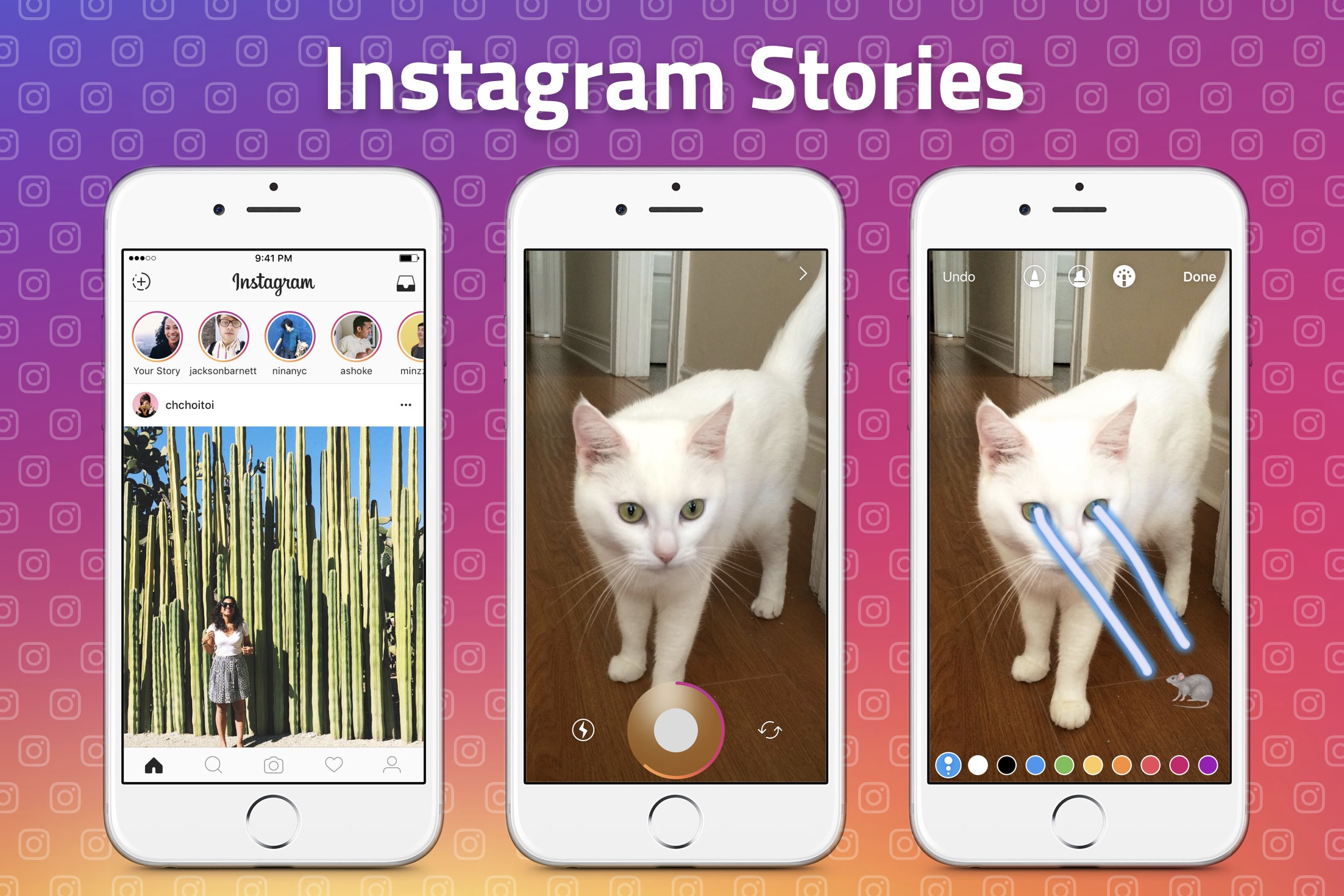 year,daily users,story,stories feature,Facebook,Snapchat,milestone,200 million,launch,feature,stories,users,Instagram ,news,apps,appnations.com,appnations,