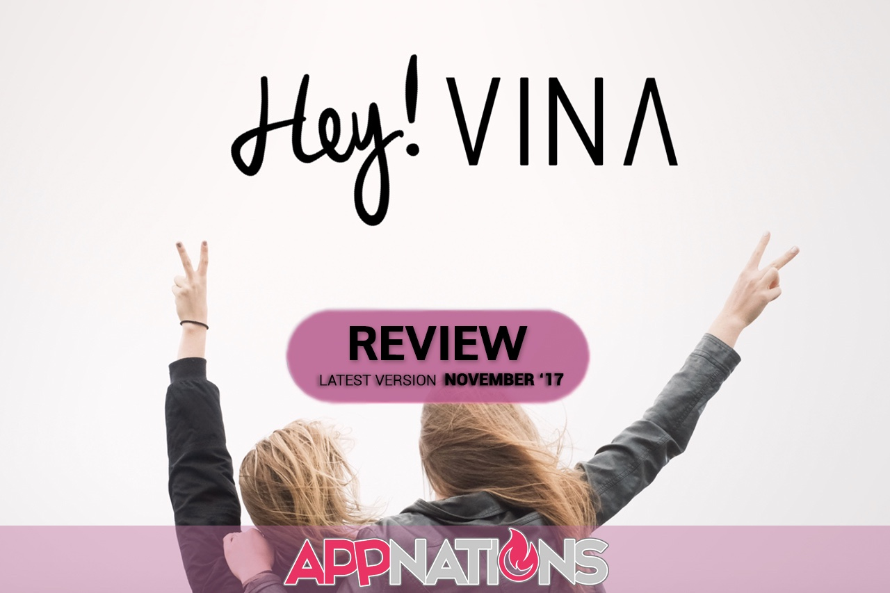 Meeting new people,iOS,Android,Swipe,Friends,Hey! Vina,Social,Apps,AppNations,