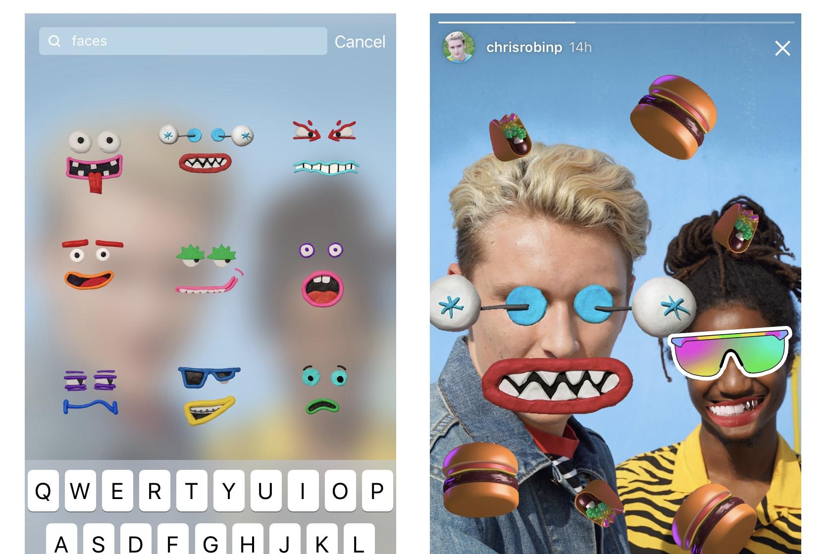 Giphy Instagram, Instagram story, Instagram GIFs, Insta Story, Stickers, GIFs, Giphy, Instagram, Updates, News, Appnations,Apps,