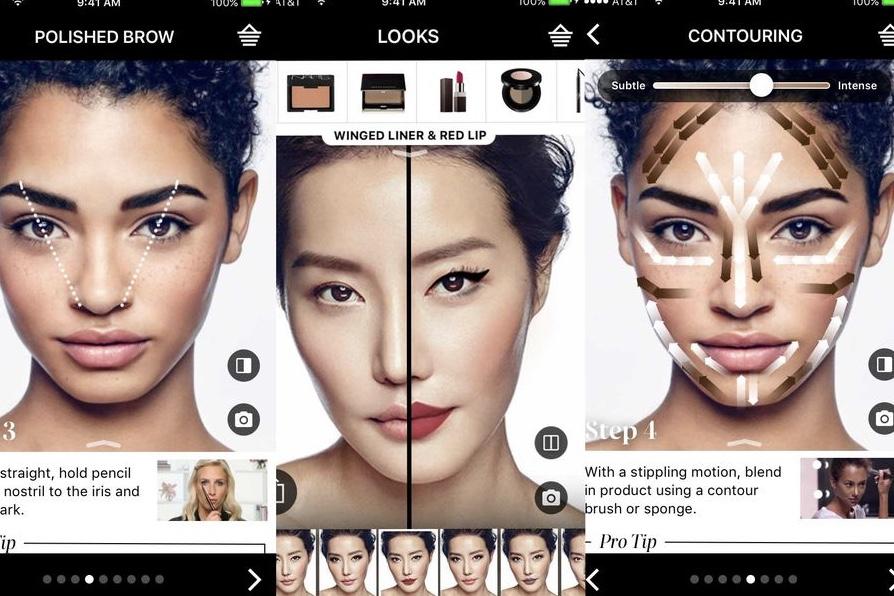 a major AR beauty company,L