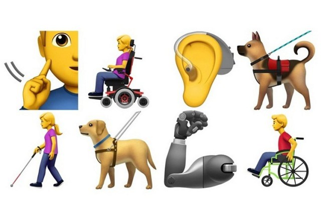 New emojis that celebrate our differences